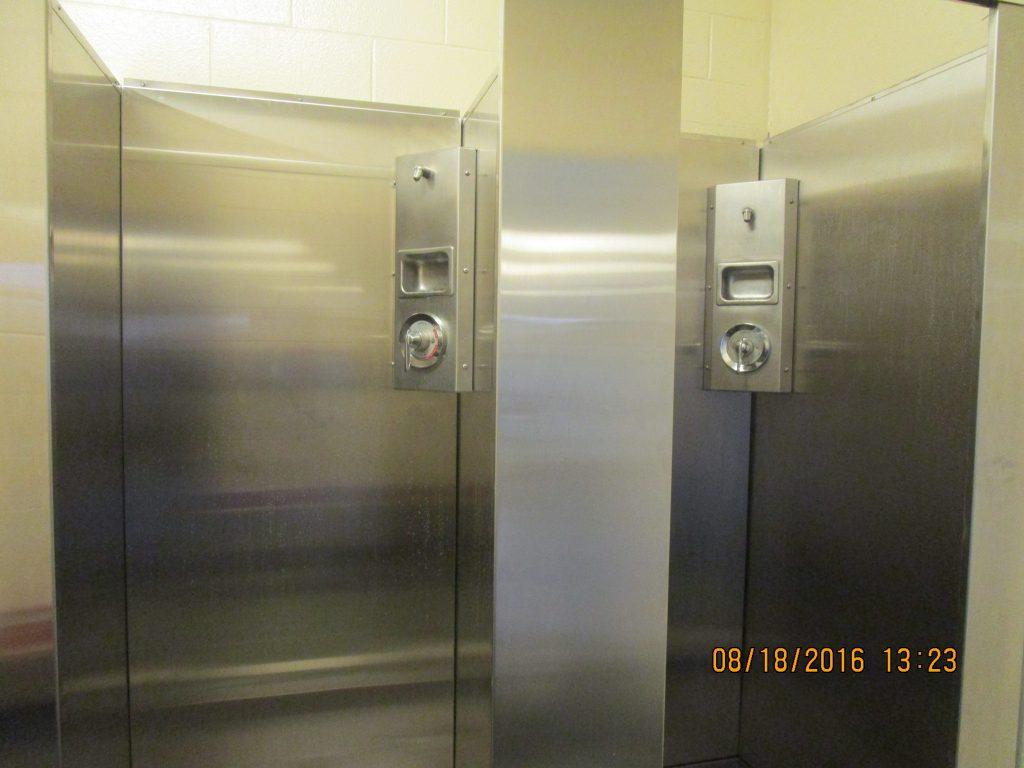 Custom Stainless Steel Showers Frigo Design
