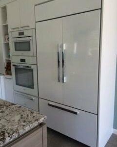Appliance Frames Amp Panels Custom Kitchen Designs Frigo