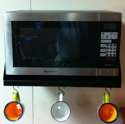 Countertop Microwave Rack : Smart Shelf Microwave Shelf Frigo Design