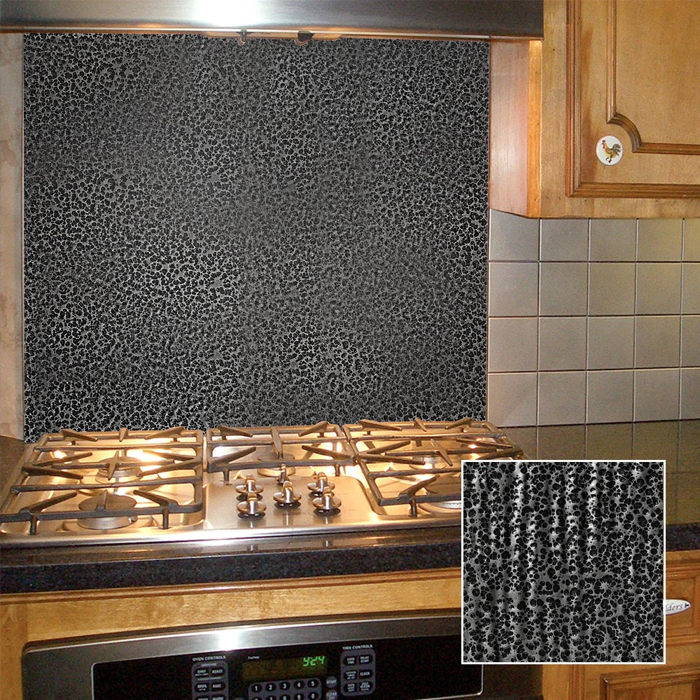 Metallic Finish Splash Choose Any Pattern Frigo Design