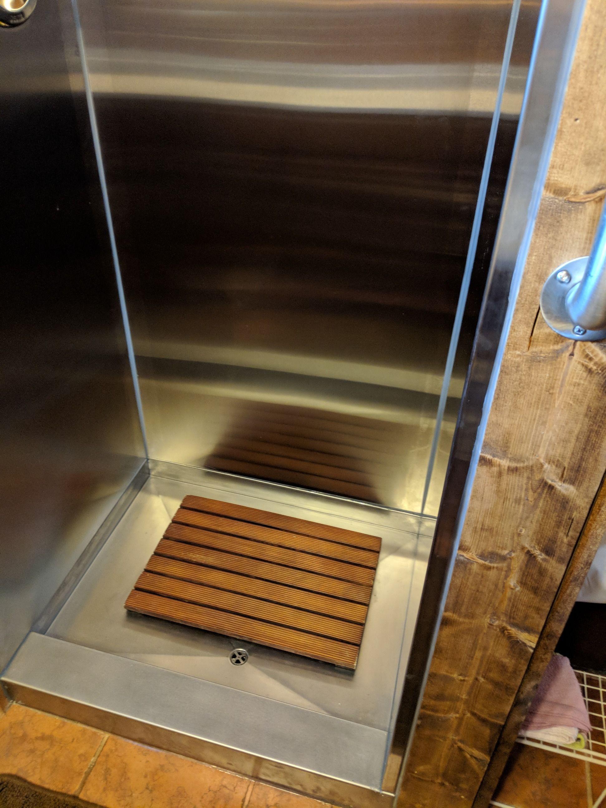 Stainless Steel Rv Shower Pan.Custom Stainless Steel Showers Frigo Design