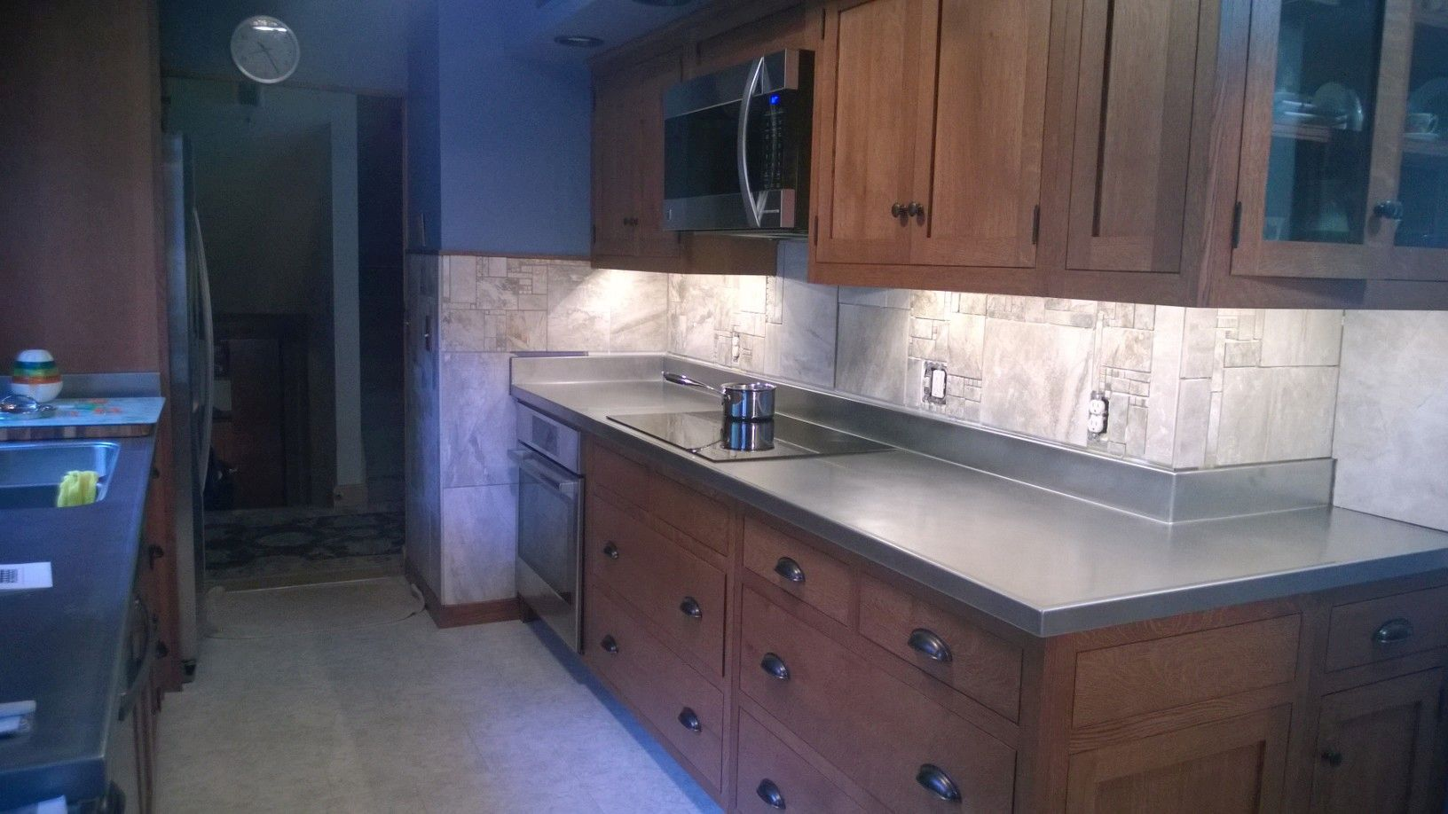 Custom Stainless Steel Countertops | Frigo Design